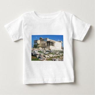 Acrópolis de Erechtheum - GRECIA Playera De Bebé
