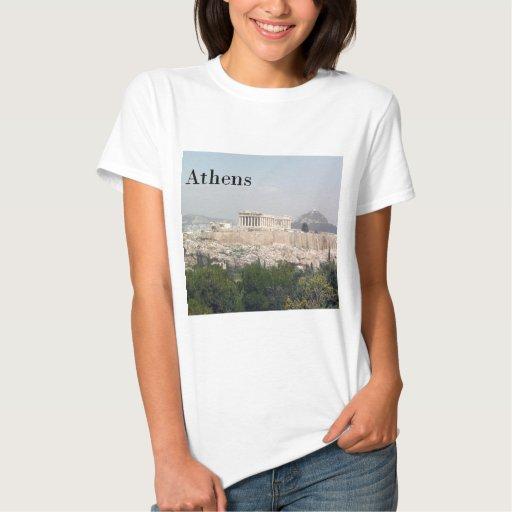 Acrópolis de Grecia Atenas Playera
