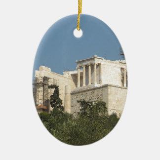 Acrópolis de la arquitectura de Atenas de Grecia Ornamento De Reyes Magos