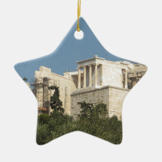 Acrópolis de la arquitectura de Atenas de Grecia Ornamento Para Reyes Magos
