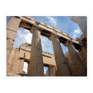 acrópolis de las columnas postal