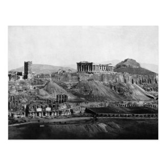 Acrópolis del ~ de la acrópolis de Atenas Grecia Postal