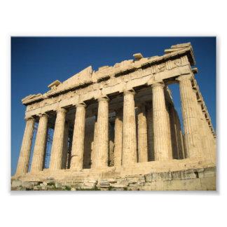 Acrópolis del Parthenon en Atenas Cojinete