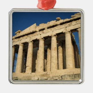 Acrópolis del Parthenon en Atenas Adorno De Navidad