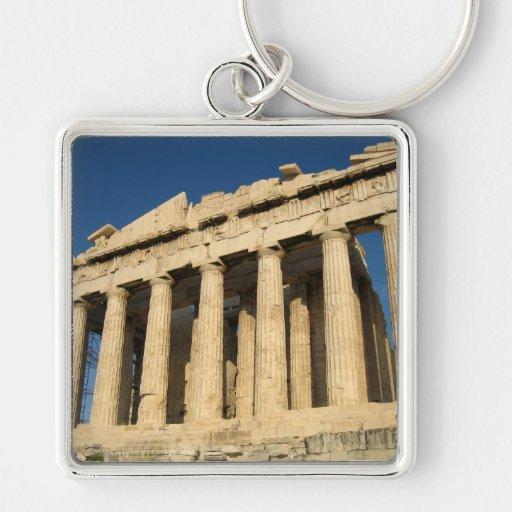 Acrópolis del Parthenon en Atenas Llaveros