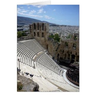 acropolis dionysus card