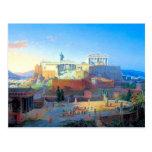 Acrópolis en Grecia Tarjetas Postales