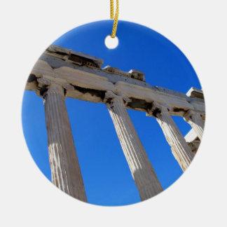 Acrópolis Erechtheion - Atenas Ornaments Para Arbol De Navidad