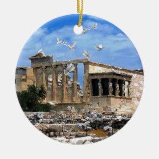 Acrópolis Erechtheum Atenas Grecia Ornatos