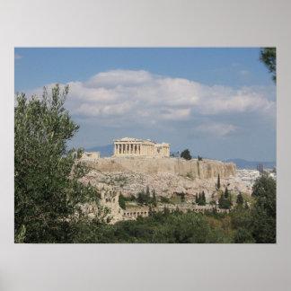 Acropolis (Greece) Poster