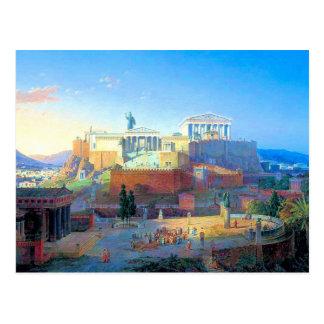 Acropolis in Greece Postcards