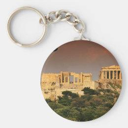 Acropolis--of--Athens. [kan.k] jpg Keychain