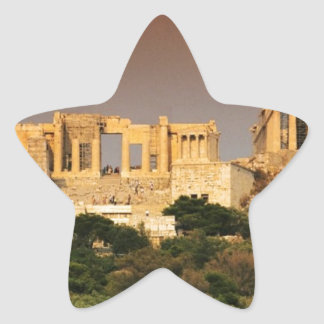 Acropolis--of--Athens. [kan.k] jpg Star Sticker