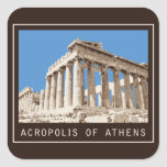 Acropolis of Athens Stickers