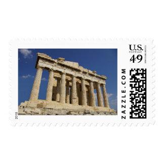 Acropolis Postage Stamp