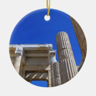 Acrópolis Propylaea - Atenas Ornaments Para Arbol De Navidad