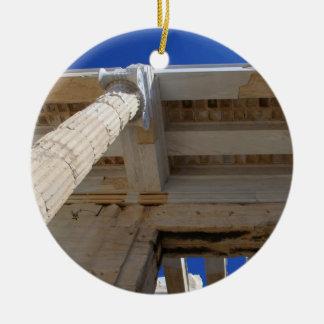 Acrópolis Propylaea - Atenas Ornamento De Navidad