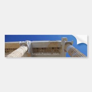 Acropolis Propylaea - Athens Bumper Sticker
