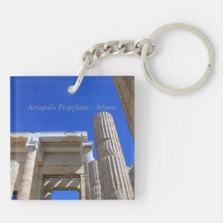 Acropolis Propylaea - Athens Acrylic Keychains