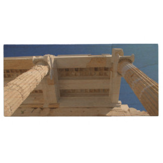 Acropolis Propylaea - Athens Wood USB 2.0 Flash Drive