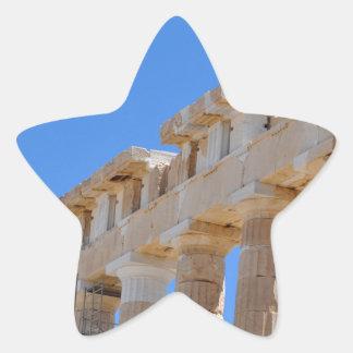 Acropolis Star Sticker