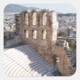 Acropolis Stickers Square