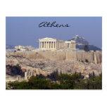 acrópolis tarjeta postal