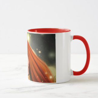 across a dark forest Mug