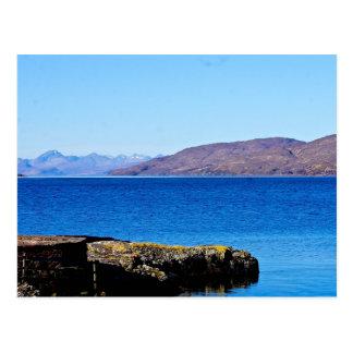 Across Kishorn to Skye Postcard