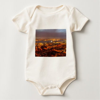 Across Liverpool to the River Mersey & Wirral Baby Bodysuit