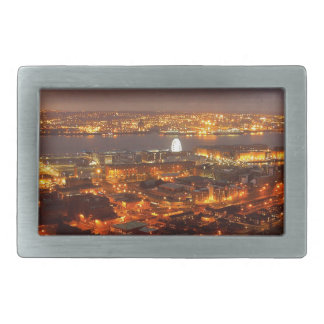 Across Liverpool to the River Mersey & Wirral Belt Buckle