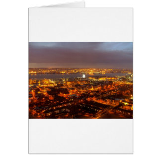 Across Liverpool to the River Mersey & Wirral Card