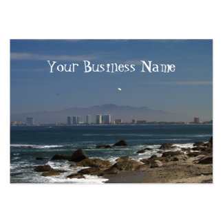 Across The Bay Business Card Template