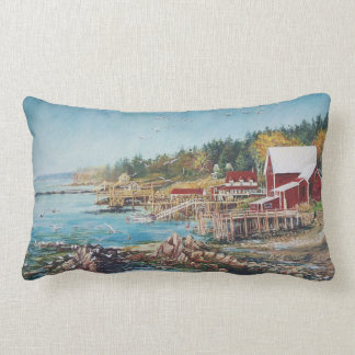 Across the Bridge Pillow