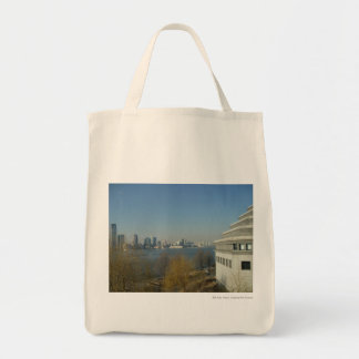 Across the Harbor Tote Bag