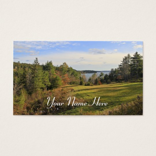 Across the Meadow Business Card