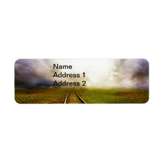 Across The Miles Return Address Labels