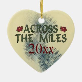 Across the Miles Ornament