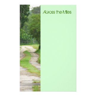 Across the Miles Stationery