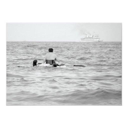Across the Ocean - Invitation