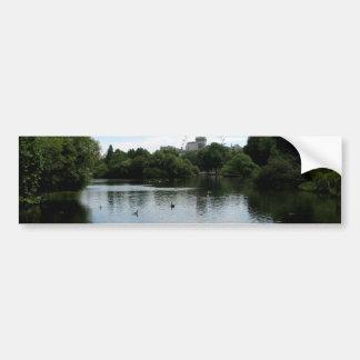 Across the Pond Car Bumper Sticker