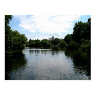 Across the Pond Postcard