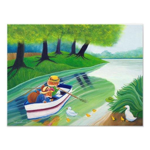 """Across the river"" Photographic Print Fotografías"