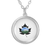 Across the Wilderness Silver Plated Necklace