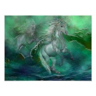 Across The Windswept Sea Art Poster/Print Poster