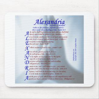 Acrostic de Alexandría Mousepads