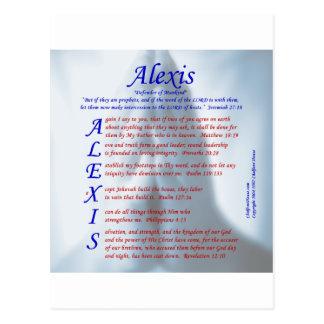 Acrostic de Alexis Postal