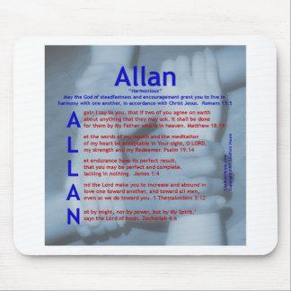 Acrostic de Allan Mousepad