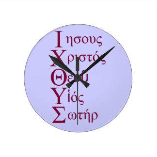 Acrostic de IXOYE (rojo) Reloj