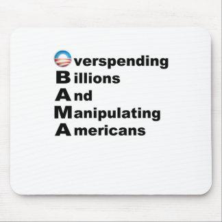 Acrostic de Obama Mousepad